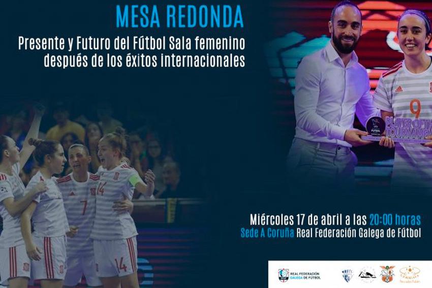 La Real Federación Galega de fútbol organiza una mesa redonda