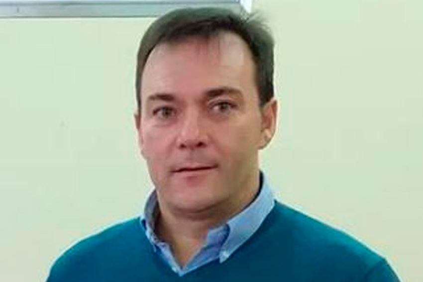 José Manuel Vázquez presidente del Carballiño FS