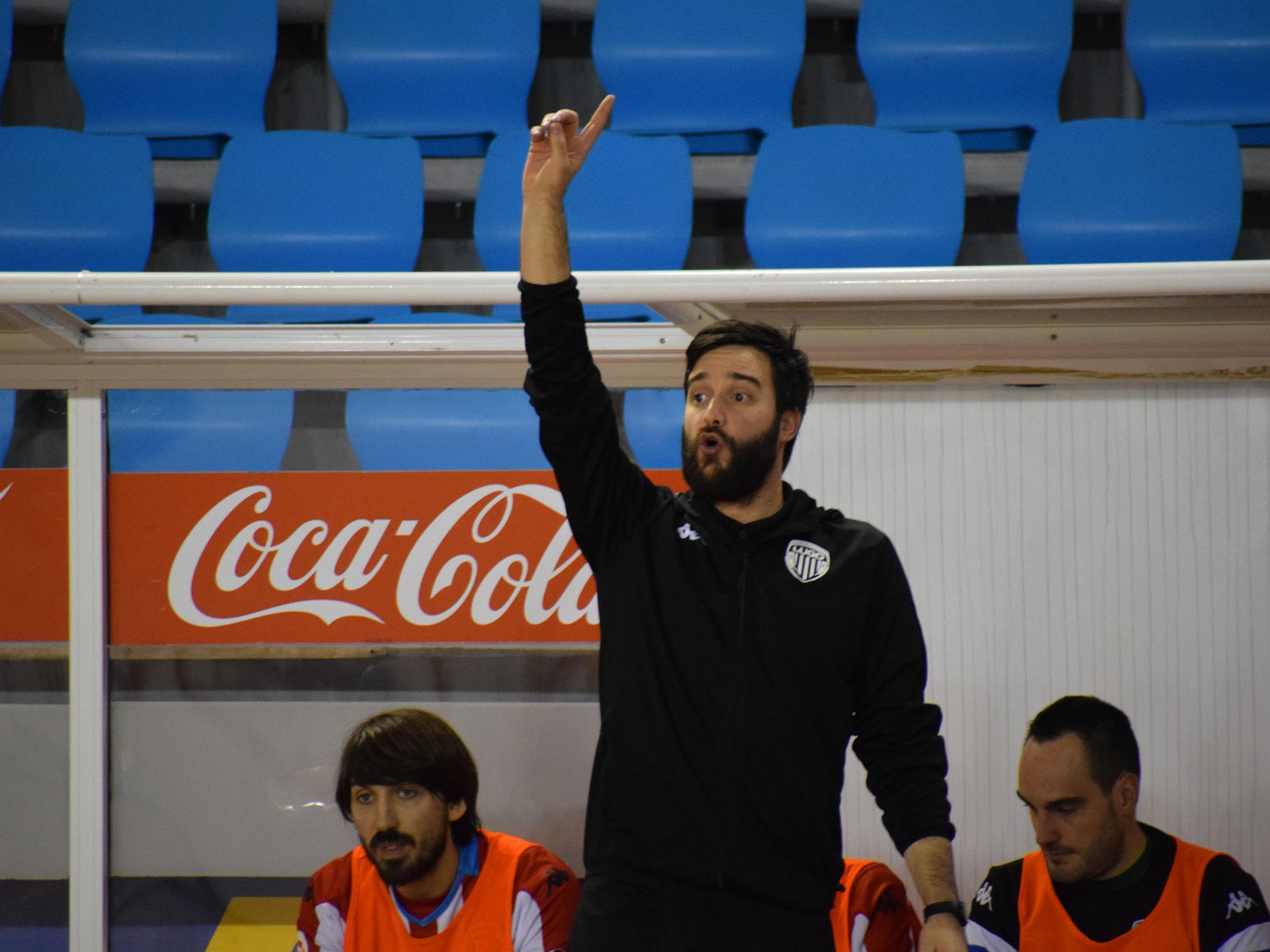 Felix Julio, entrenador del Lugo Sala analiza el Play Off de ascenso