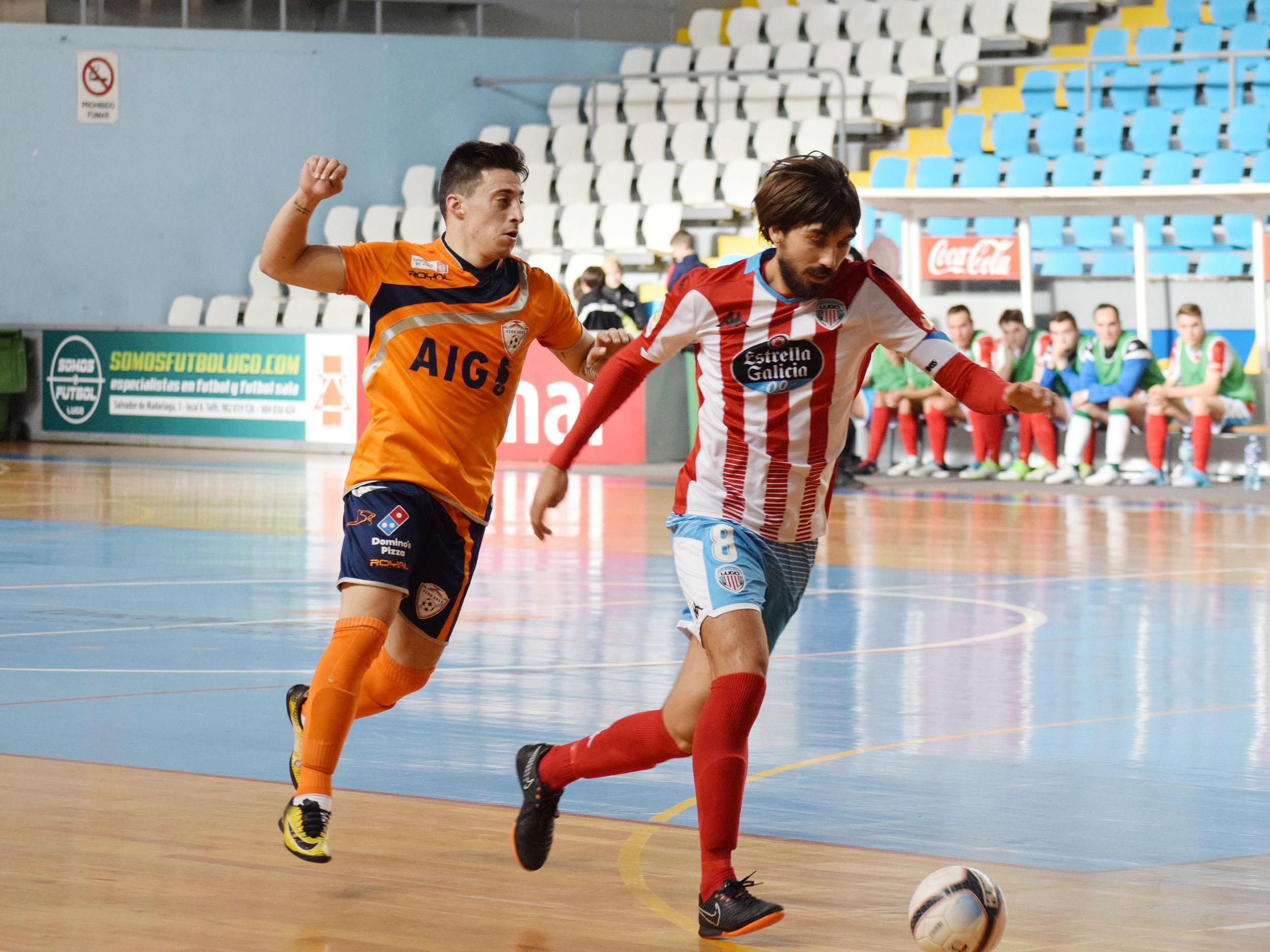 Brais García e Iker Villarino continúan en el el CD Lugo Sala