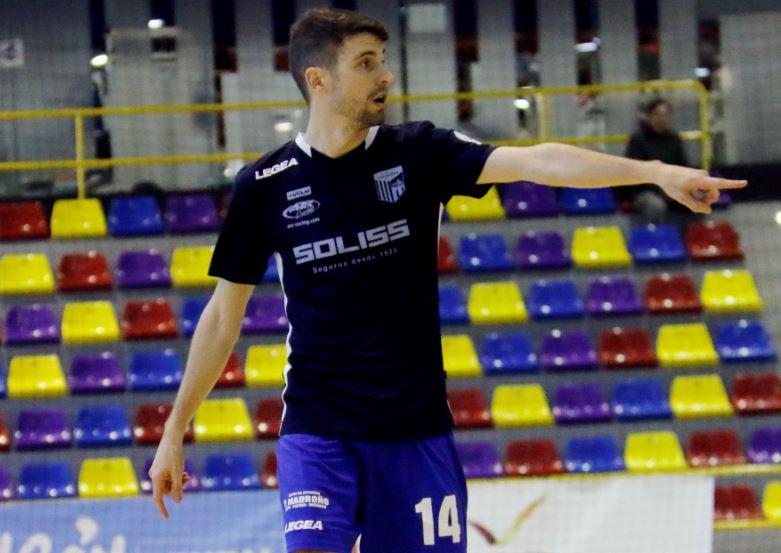 Asensio a por su tercera temporada en el Soliss FS Talavera