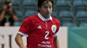 Chaguinha, del Benfica portugués  tercer fichaje del Betis Futsal