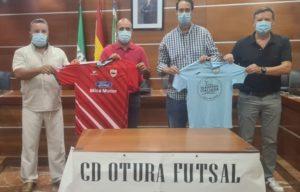 El SIMA Granada es recibido por el Alcalde del Ayuntamiento de Otura