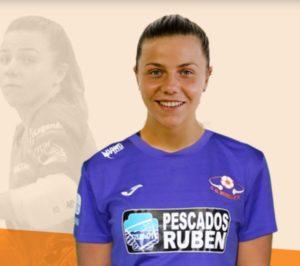 Sandrá Buzón apuntala la porteria del Pescados Rubén Burela FS