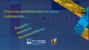 Pablo Prieto, realizó una exposición en el curso profesional de Fútbol Sala que se celebra en Galicia