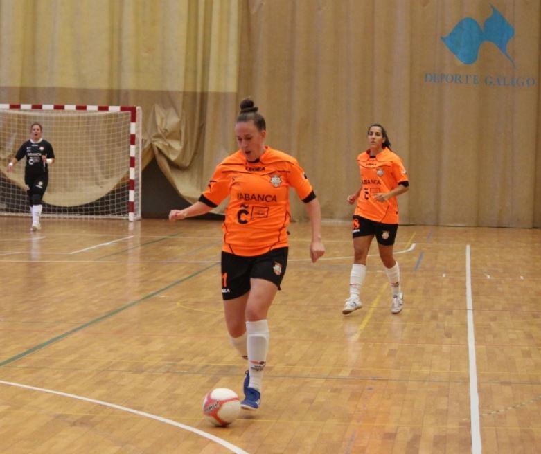 Yaiza Otero seguirá aportando gol al Viaxes Amarelle FSF