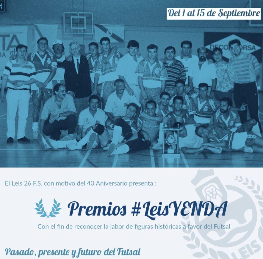 El Leis Pontevedra crea los premios #LeisYenda