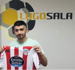 Miguelito del Superti  A Pontenova al CD Lugo Sala