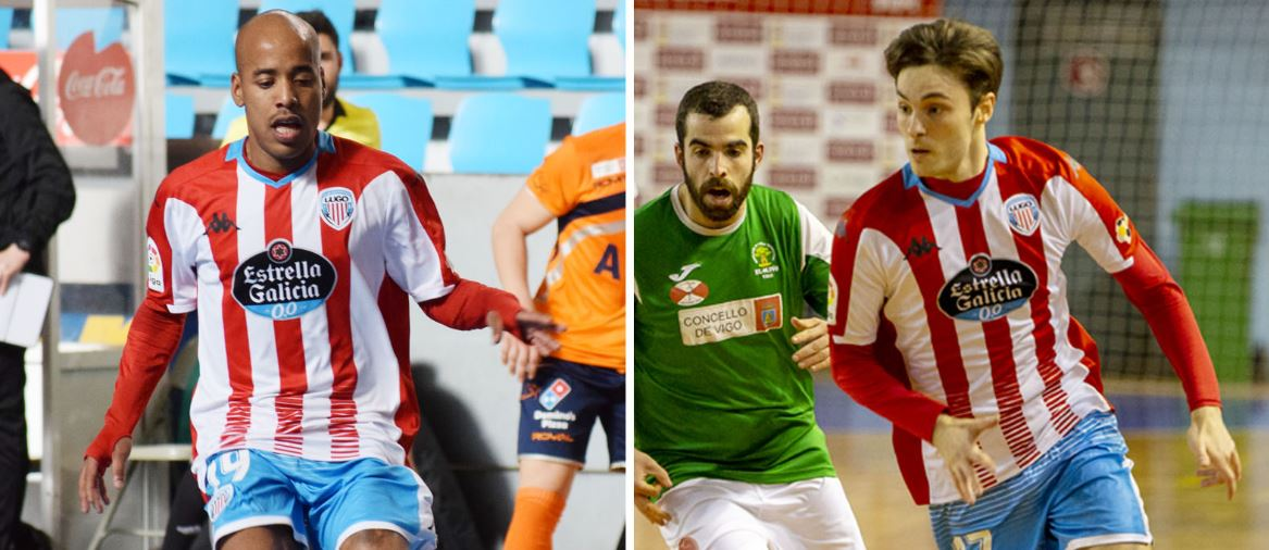 Jhordan y Luis Longo  continúan en el CD Lugo Sala