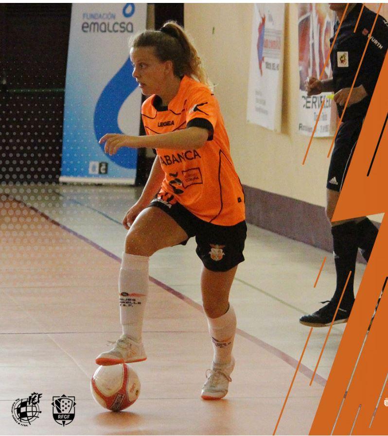 Maria Gómez del  Viaxes Amarelle FSF a por su decimotercera temporada en el club