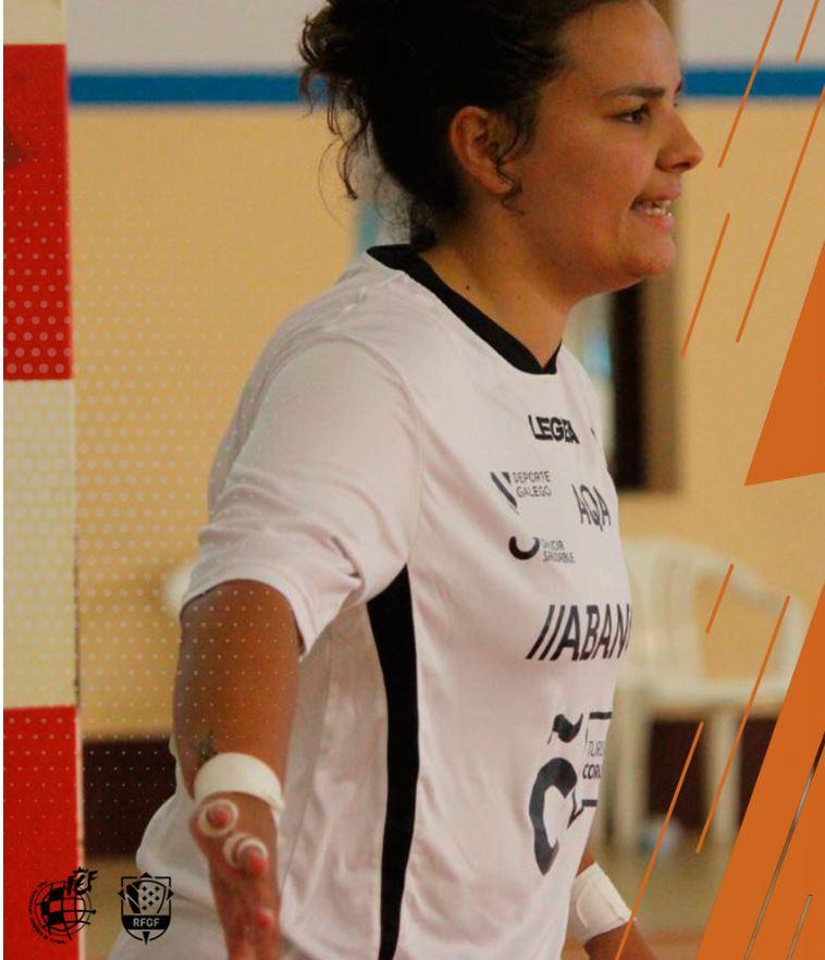 Sandra Rodriguez, defenderá una temporada mas la portería del Viaxes Amarelle FSF