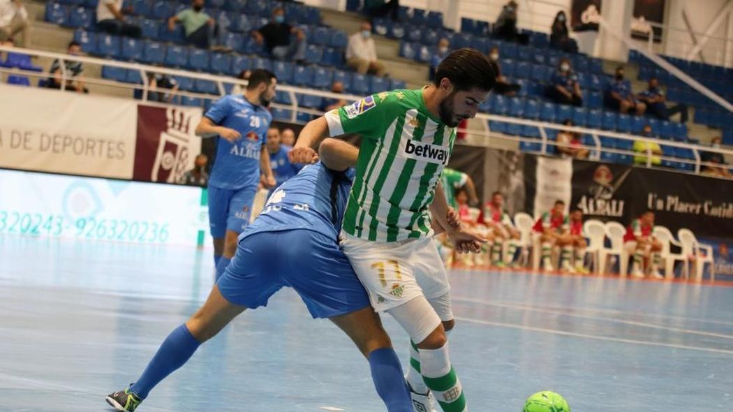Viña Albali Valdepeñas vence con autoridad al Real Betis Futsal ( 5-1)