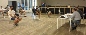Puesta de largo del Santiago Futsal