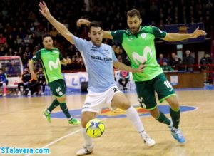 Soliss FS Talavera comienza su pretemporada ante el Movistar Inter