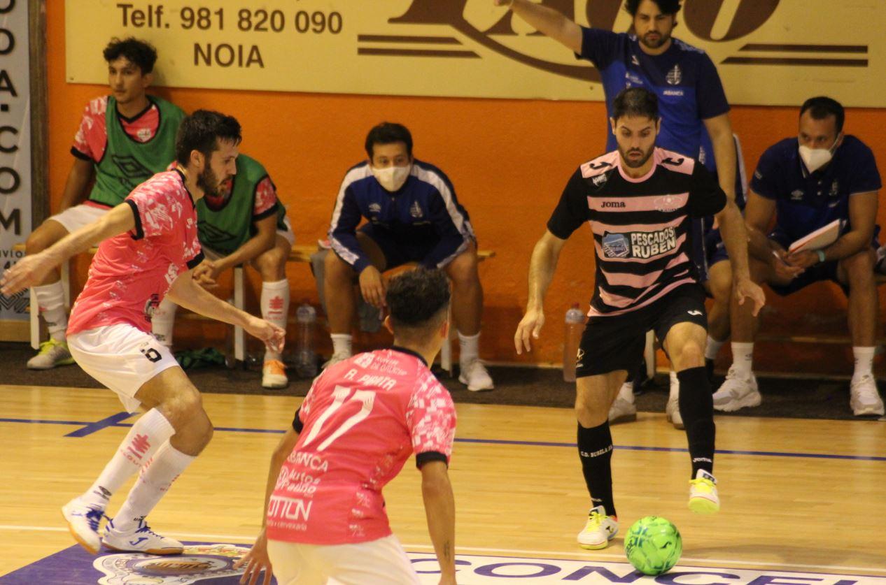 Quintela da la victoria al Burela P.Rubén ante el Noia Portus Apostoli ( 4-5 )