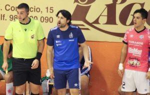Marlon Velasco valora positivamente el segundo test ante el Burela P.Rubén