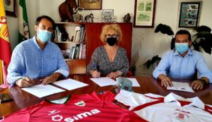 SIMA Granada Fútbol Sala firma un convenio con el Ayuntamiento de Padul