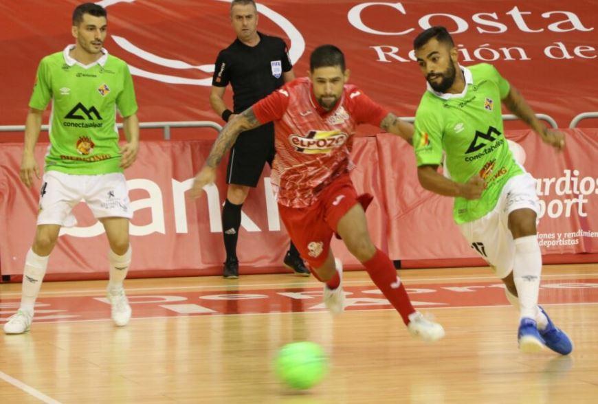 Un Palma Futsal que fue de menos a mas derrota a ElPozo Murcia (1-4 )