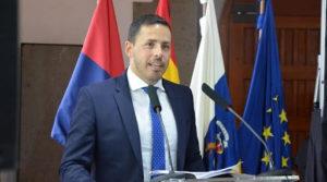 Reunión institucional del Teldeportivo FSF con el alcalde Héctor Saurez
