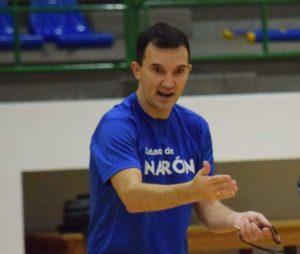 Hoy entrevistamos a Albes, entrenador del Cidade de Narón.