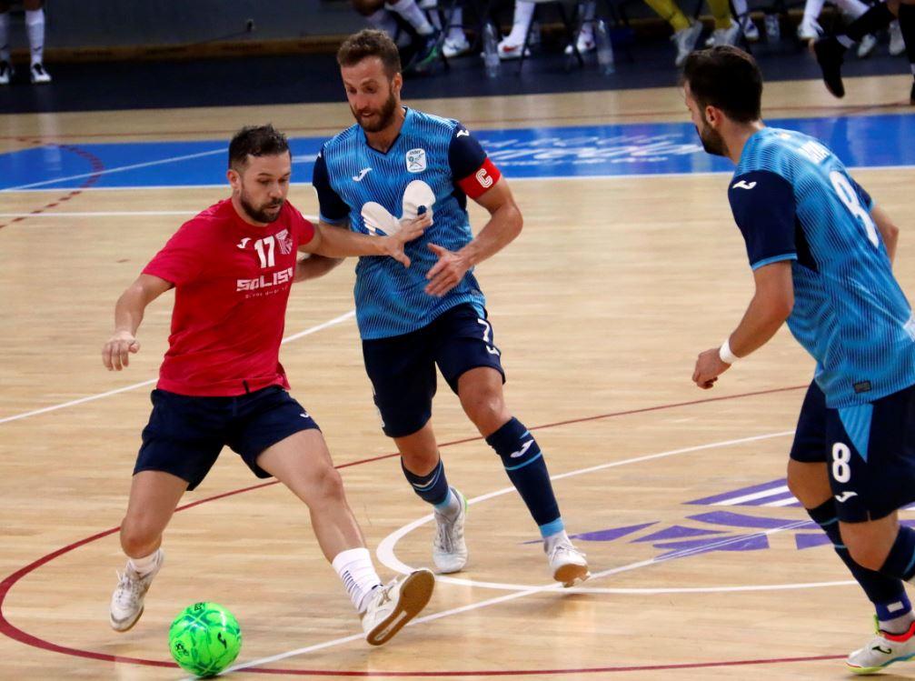 Soliss FS Talavera cae en el primer partido de pretemporda ante el Movistar Inter