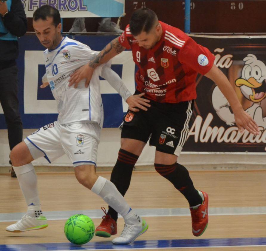 O Parrulo Ferrol consigue su primer punto de la temporada ante el Fútbol Emotion Zaragoza ( 2 – 2 )