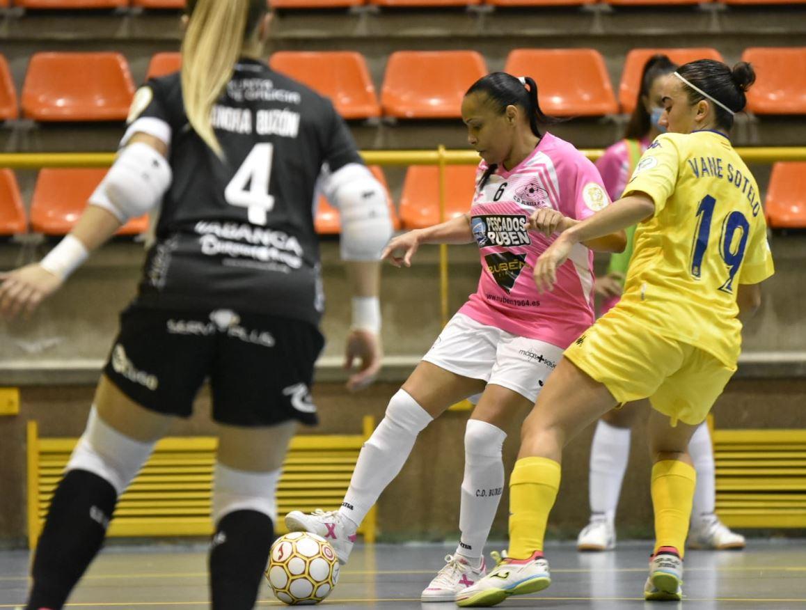 Burela Pescados Rubén consigue la primera victoria de la temporada ante el Alcorcón FSF ( 2-3 )