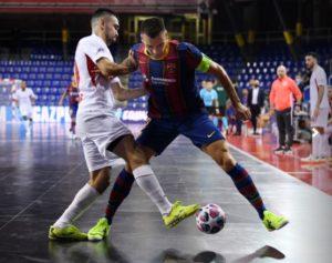 El Barça supera al KPRF Ruso en la tanda de penaltis, y disputará la Final de la UEFA Futsal Champions ante ElPozo Murcia