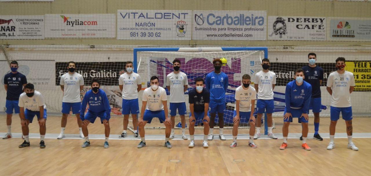 O Parrulo Ferrol y A Estrada Futsal debutan en 2ª División ¨B¨ en A Malata