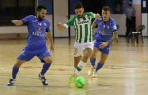 El Viña Albali Valdepeñas vence con autoridad al Real Betis ( 1 – 6 )
