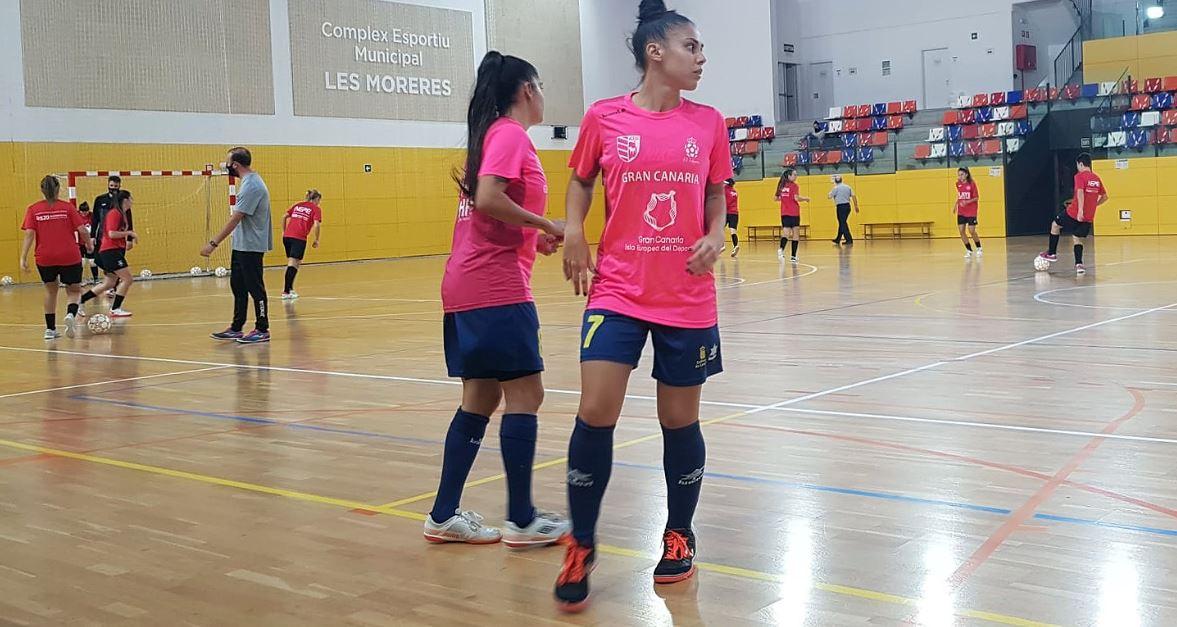 Esplugues se impone al Gran Canaria Teldeportivo en un partido con dos fase muy distintas  ( 3 – 1 )