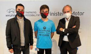 Hyundai Finisterre, renueva una temporada mas su compromiso con el 5 Coruña FS