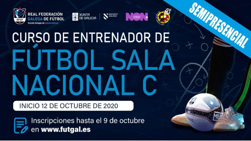 Abierto el plazo de inscripción para el curso semipresencial – Nacional C de Fútbol Sala ( Monitor de Fútbol Sala )
