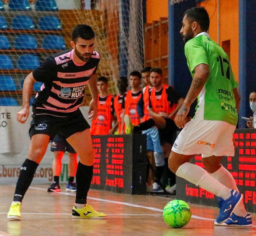 Burela P.Rubén y Jimbee Cartagena se enfrentan en Vista Alegre