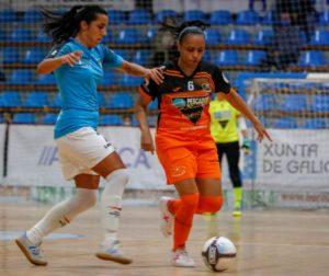 Burela P. Rubén vence a un ¨buen¨ Viaxes Amarelle y disputara la final de la XIV Copa Galicia Femenina.