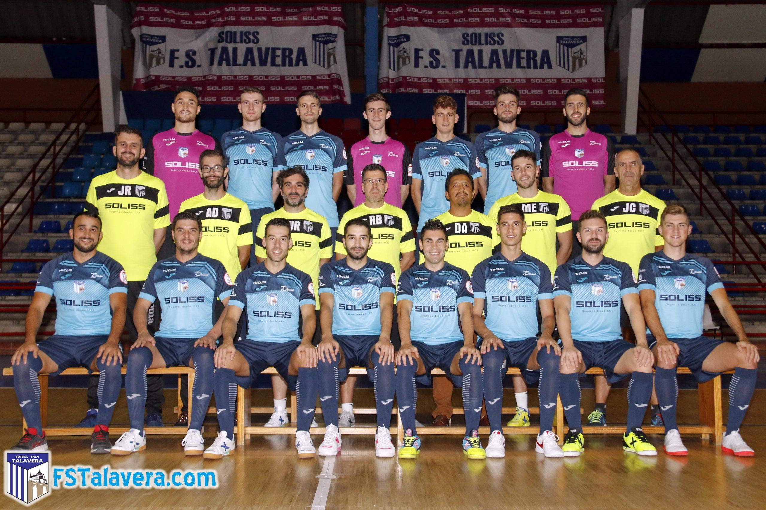 El Soliss Fútbol Sala Talavera hace su foto oficial de la temporada
