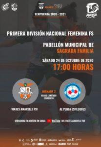 El Viaxes Amarelle de Jorge Basanta debuta en el 1ª Femenina RFEF Futsal