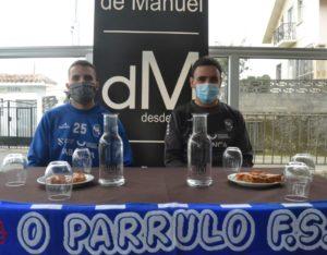Héctor Souto y Kevin Chis analizan el partido ante el Santa Coloma