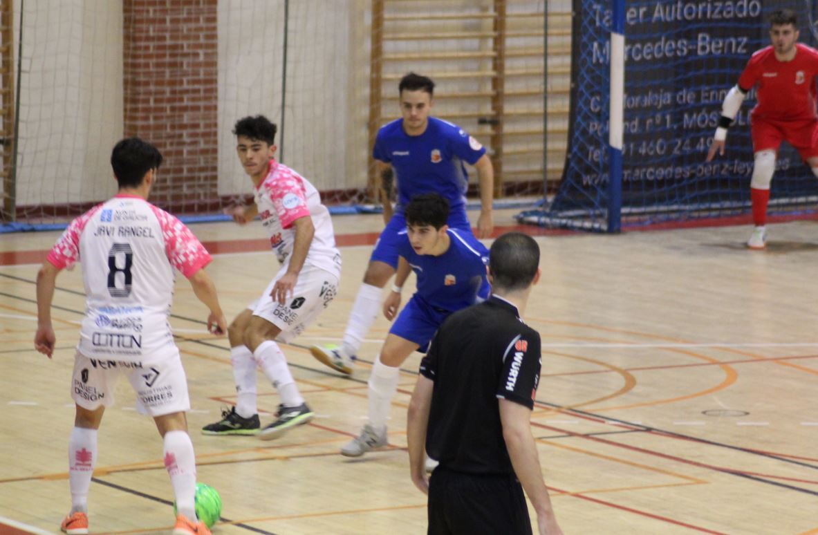 El Noia Portus Apostoli consigue su segunda victoria de la liga ante el Ciudad de Móstoles ( 2 – 5 )