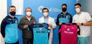 La Clínica de intervención en neurociencias (CIN) firma un convenio de colaboración con el Soliss Talavera FS