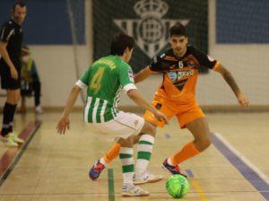 Burela P. Rubén cae por la mínima ante el Betis Futsal, con un gran Cidao (2-1)