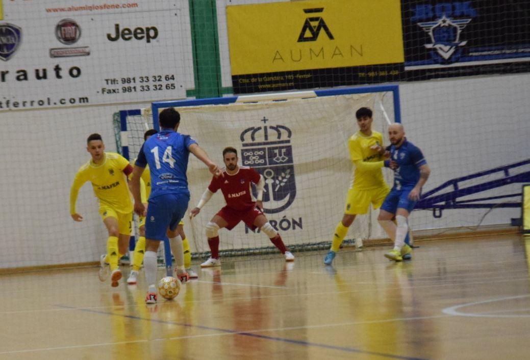 El Cidade de Narón cede tres puntos ante A Estrada Futsal ( 1 – 3 )