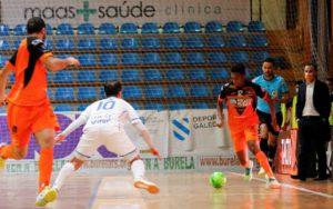Burela P. Rubén se llevó el derbi ante O Parrulo con un hat-trick de Renato ( 6 – 3 )