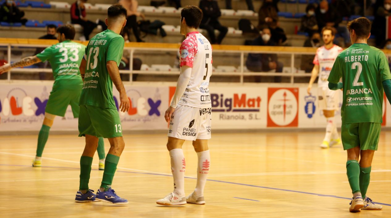 Noia Portus Apostoli se lleva el derbi gallego al derrotar al JERUBEX Santiago Futsal ( 4 – 1 )