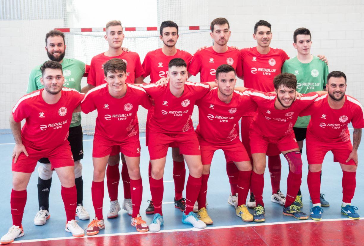Iniciativa solidaria del 5 Coruña FS, en su debut liguero en la Tercera División