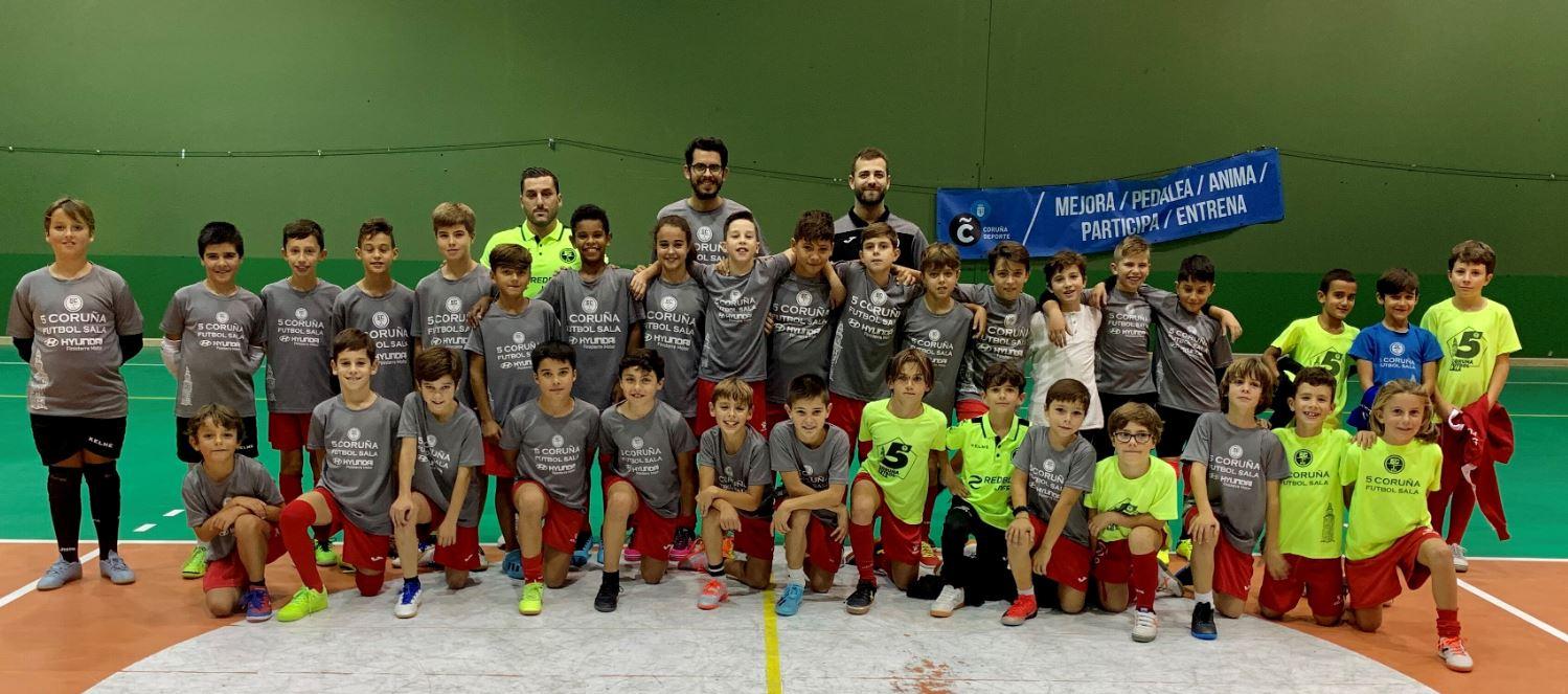 El Psicólogo Álvaro  González asesorará a los técnicos del 5 Coruña Fútbol Sala.