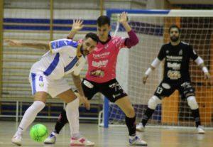 Noia Fútbol Sala,  consigue a 2 minutos del final su quinta victoria consecutiva ante el  CD Leganés FS ( 2 – 3 )