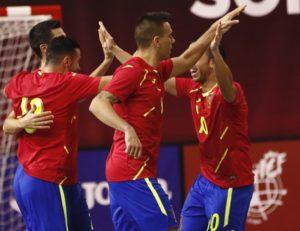 España derrota a Brasil en Las Rozas