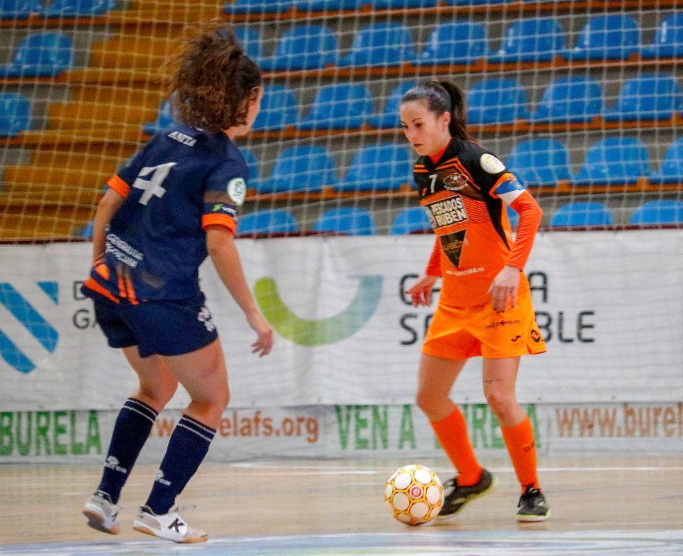 Primera femenina RFEF Futsal – Burela P.Rubén visita la cancha del Majadahonda AFAR