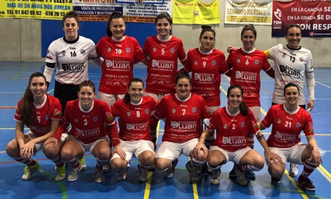Fútbol Sala femenino – El Colme Futsal vence al VP Soto del Real con un hat-trick de Ana Cris